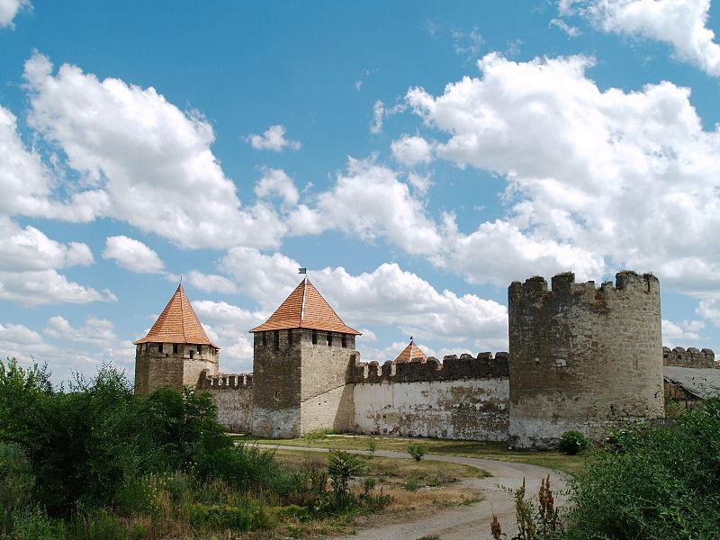 Northern side of Bender Fortress.
