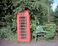 Benkid77 Telephone Box, Delamere 010709.JPG