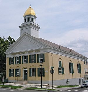 Manchester, Vermont - Bennington County Courthouse in Manchester Village
