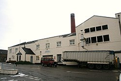 The Benrinnes distillery
