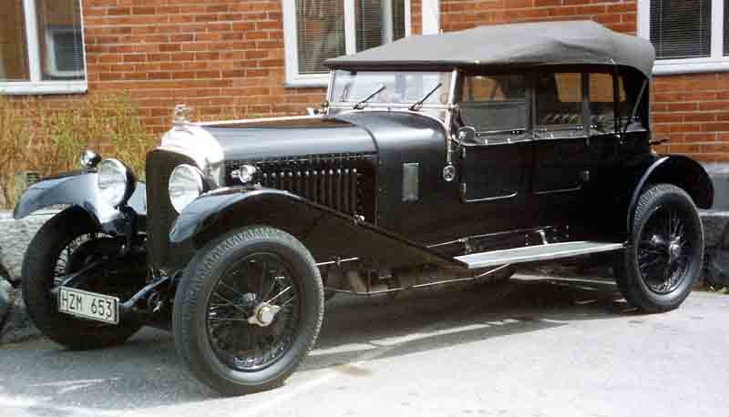 Bentley 4,5 Litre Sporting Four Seater 1929