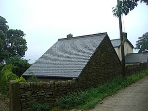 Listed buildings in Sheffield S6 - Image: Bents Farm, Cart Shed