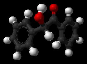 Benzoin - Image: Benzoin 3D balls