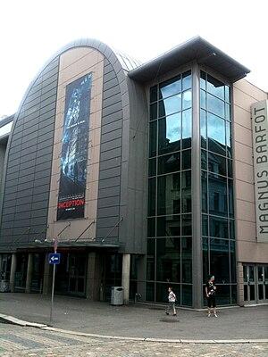 Bergen International Film Festival - The Magnus Barefoot Cinema Centre i Bergen, the main venue of BIFF.