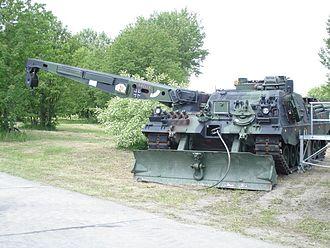 Armoured recovery vehicle - A German Army BPz3 Büffel (2006)