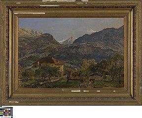Berglandschap bij Appenzell