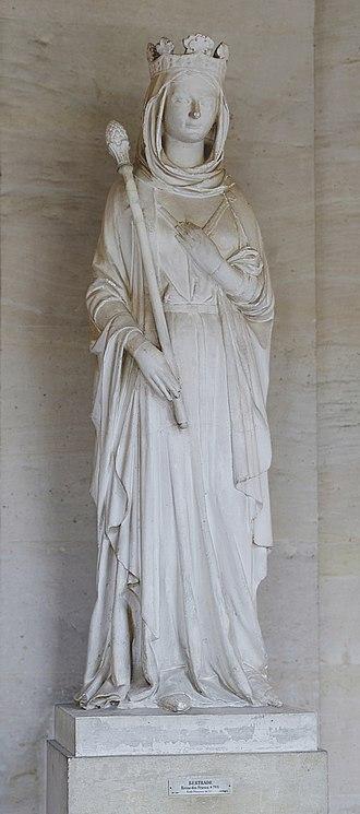 Bertrada of Laon - Bertrada Broadfoot of Laon, at Versailles