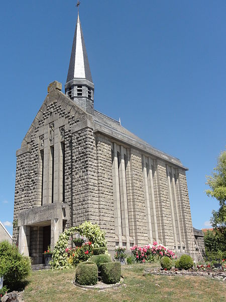 Bertricourt (Aisne) église