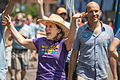 Betsy Hodges and Gary Schiff, Twin Cities Pride Parade, June 2013.jpg