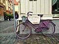Bicicleta en una calle de goteborg - panoramio.jpg