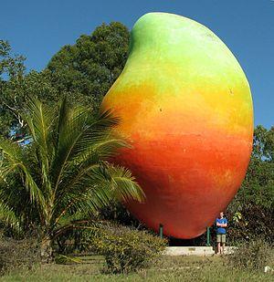 Bowen, Queensland - The Big Mango, Bowen, Queensland.