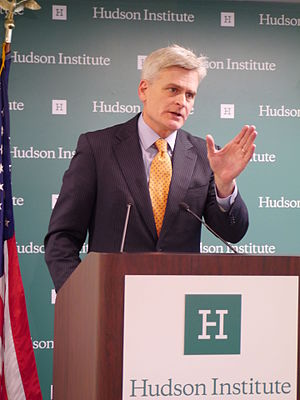 Bill Cassidy - Bill Cassidy at Hudson Institute, May 2015