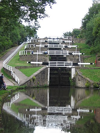 Leeds and Liverpool Canal - Bingley Five Rise Locks