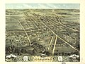 Bird's eye view of Norwalk, Huron County, Ohio 1870. LOC 73694514.jpg