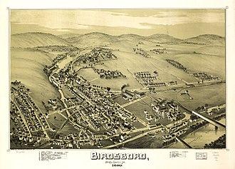 Birdsboro, Pennsylvania - Birdsboro in 1890