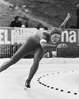 Bjørg Eva Jensen Norwegian speed skater and racing cyclist