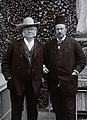 Bjørnstjerne Bjørnson sammen med Alexander Kielland, 1896 (4419368783).jpg