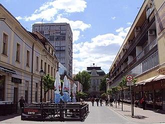 Bjelovar - Image: Bjelovar Preradoviceva