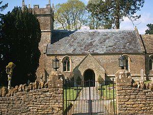 Blackford, Somerset - Image: Blackford church