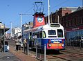 Blackpool Tram and Woolies (3718386744).jpg