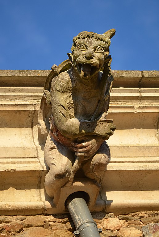 Gargoyle on the Castle of Blain, France