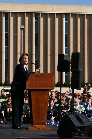 Blanche Lincoln - Senator Lincoln speaking in Jonesboro, Arkansas, on October 25, 2008.