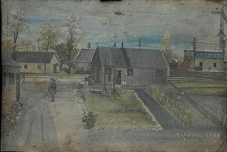 Abancourt, Oise - Abancourt Military Prison 1917