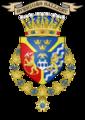 Blason de Charles XIV Jean de Suède listel.png