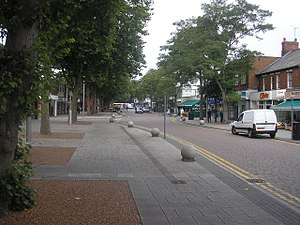Bletchley - Image: Bletchley Queensway