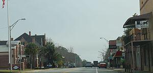 Blountstown, Florida - Downtown Blountstown