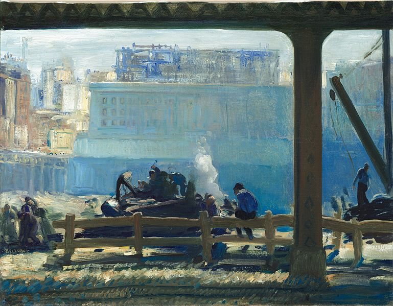 File:Blue Morning 1909 George Bellows.jpg