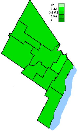 Canadian federal election results in Brampton, Mississauga and Oakville - Green Party of Canada