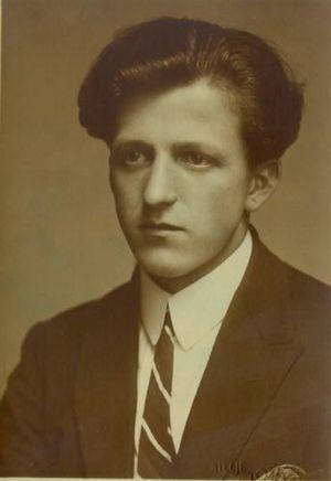 Božidar Jakac - Image: Božidar Jakac 1920s