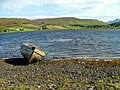 Boat at the head of Loch Harport - geograph.org.uk - 953778.jpg