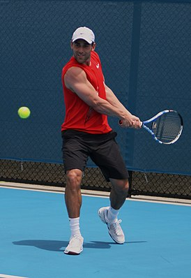 Bobby Reynolds at the 2009 Brisbane International.jpg