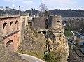 Bockfiels and Schlassbréck, Luxembourg City.JPG