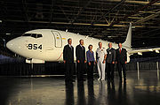 Boeing P-8A rollout 30 July 2009