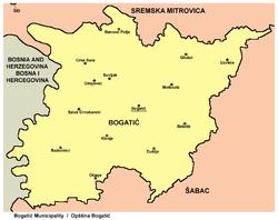 Vremea în Bogatić, Districtul Mačva, Serbia
