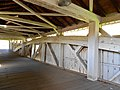 Bogert Covered Bridge interior.JPG