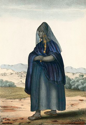 Soninke people - A Soninke woman, a 1853 sketch by David Boilat