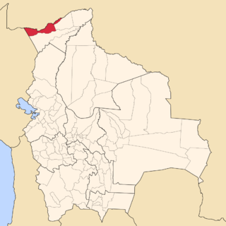 Nicolás Suárez Province