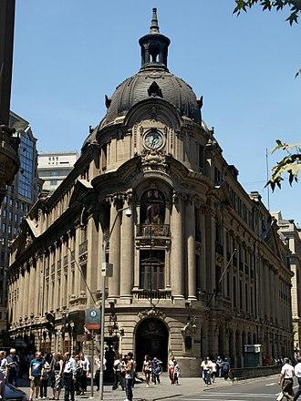 Santiago Stock Exchange - Image: Bolsa de Comercio de Santiago