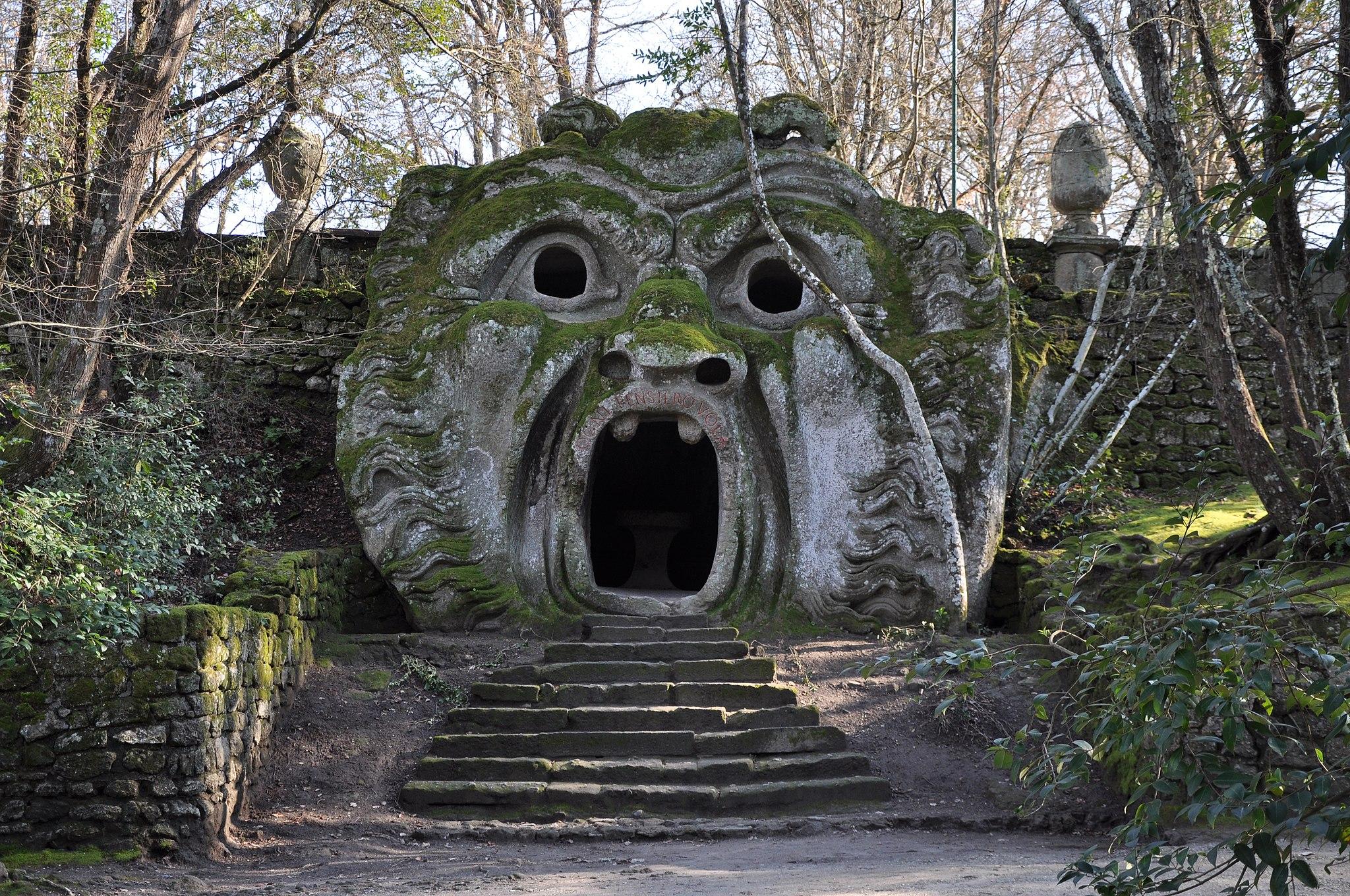 Monster in Parco dei Mostri (Bomarzo)