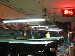 Booches - Cue sports tables at Booches