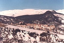 Panorama of Borrello