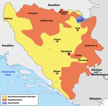 bosznia hercegovina térkép Bosznia Hercegovina – Wikipédia bosznia hercegovina térkép