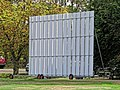 Botany Bay Cricket Club ground sight screen in Botany Bay, Enfield, London 1.jpg