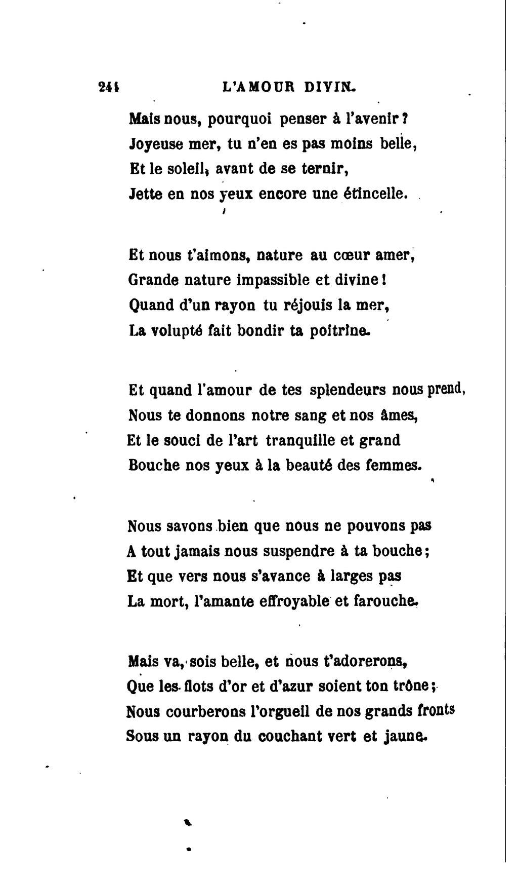Pagebouchor Les Poëmes De Lamour Et De La Mer 1876djvu