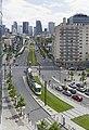Boulevard National et tramway T2, à La Garenne-Colombes.jpg