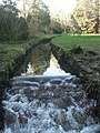 Bournemouth Gardens, small waterfall - geograph.org.uk - 669426.jpg